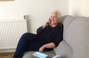 Linda who is a befriender now keeps in touch with older members of the community on the iPad and phone now.