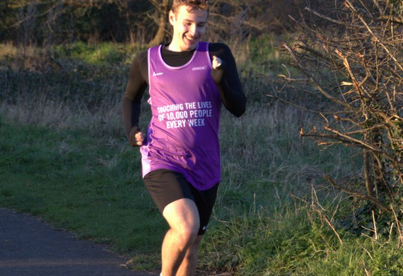 Benjamin cowen runs the virtual virgin money london marathon 2020 for jewish care listing