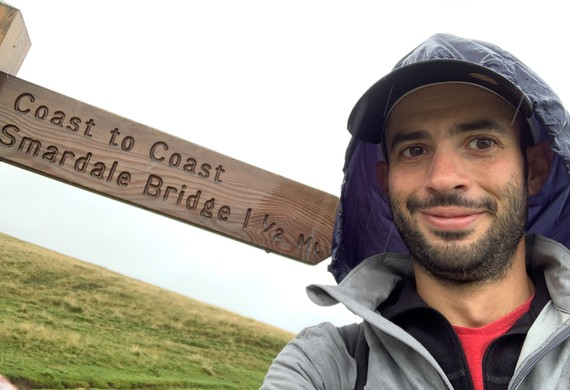 James fox coast to coast 192 mile walk for jewish care listing